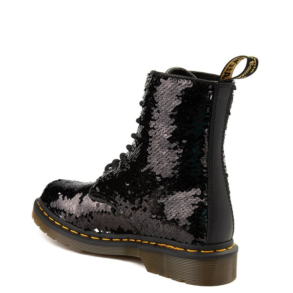 alternate image alternate view Womens Dr. Martens Pascal 8-Eye Two-Tone Sequin BootALT2