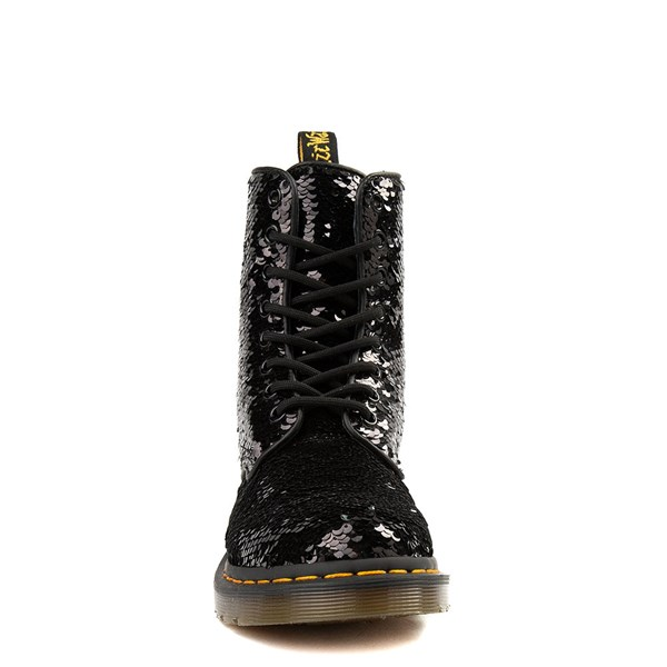 alternate image alternate view Womens Dr. Martens Pascal 8-Eye Two-Tone Sequin BootALT4