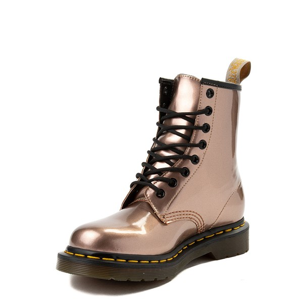 alternate image alternate view Womens Dr. Martens Pascal 8-Eye Vegan Metallic BootALT3