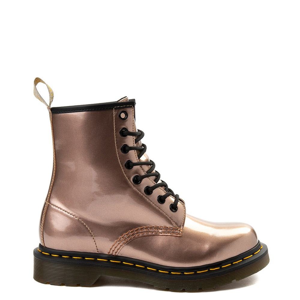 Womens Dr. Martens Pascal 8-Eye Vegan Metallic Boot