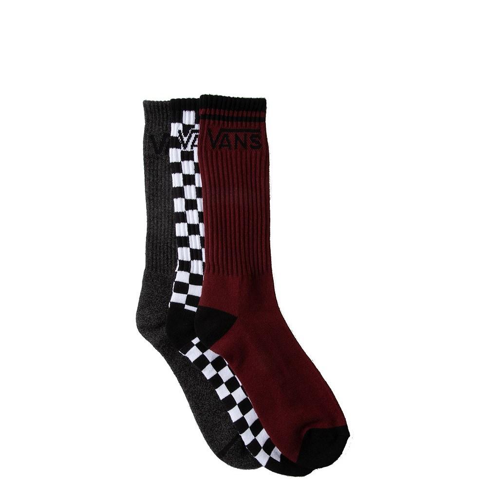 Mens Vans Logo Crew Socks 3 Pack