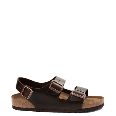 Main view of Mens Birkenstock Milano Soft Footbed Sandal
