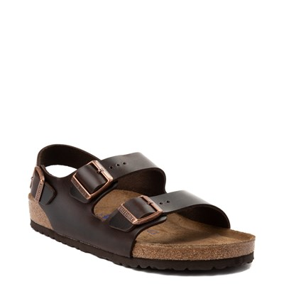 Alternate view of Mens Birkenstock Milano Soft Footbed Sandal