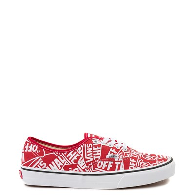 Main view of Vans Authentic Off The Wall Skate Shoe