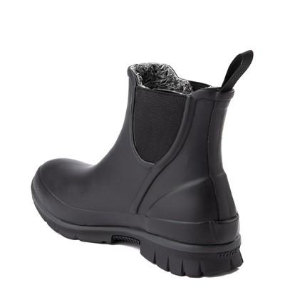 Alternate view of Womens Bogs Amanda Plush Slip On Boot - Black