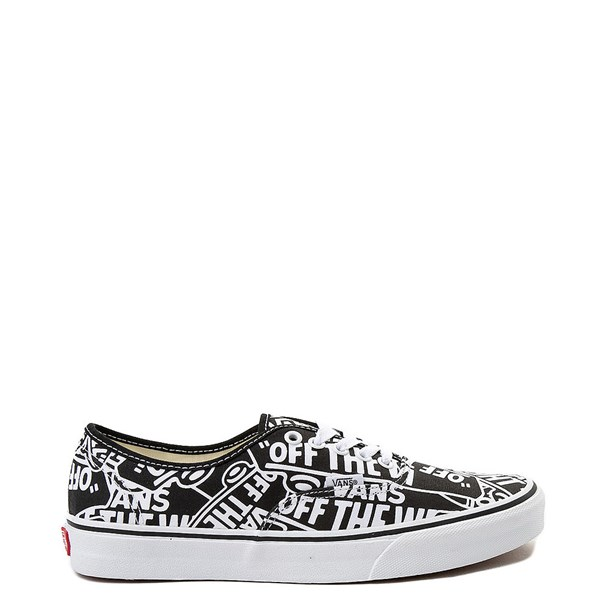 Vans Authentic Off The Wall Logo Skate Shoe