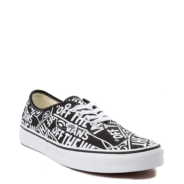 alternate image alternate view Vans Authentic Off The Wall Logo Skate ShoeALT1