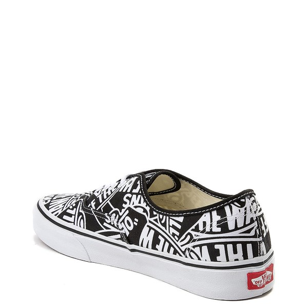 alternate image alternate view Vans Authentic Off The Wall Logo Skate ShoeALT2