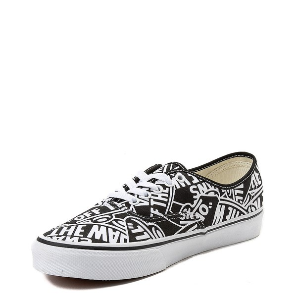 alternate image alternate view Vans Authentic Off The Wall Logo Skate ShoeALT3