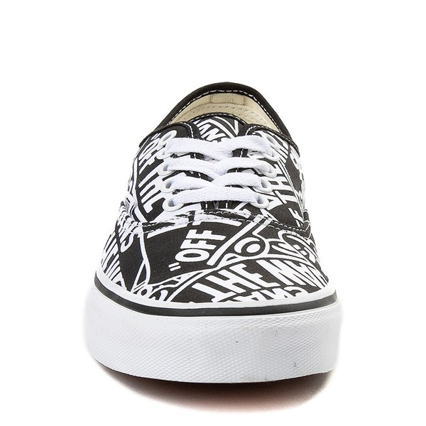 alternate image alternate view Vans Authentic Off The Wall Logo Skate ShoeALT4