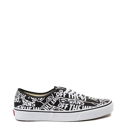 Main view of Vans Authentic Off The Wall Logo Skate Shoe