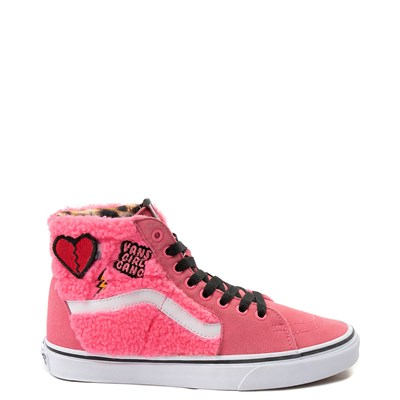 Main view of Vans Sk8 Hi Girl Gang Sherpa Skate Shoe