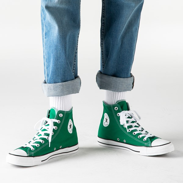 alternate image alternate view Converse Chuck Taylor All Star Hi Sneaker - Amazon GreenB-LIFESTYLE1