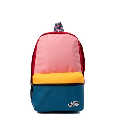 Main view of Vans Calico Patchy Backpack