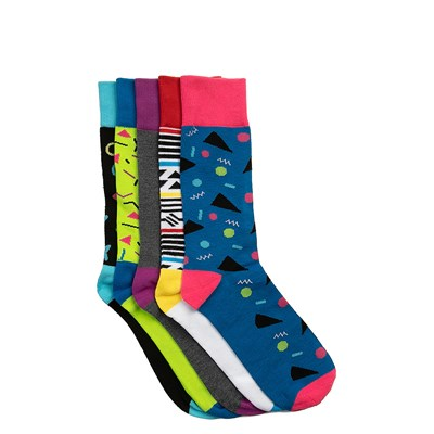 Main view of 90s Crew Socks 5 Pack