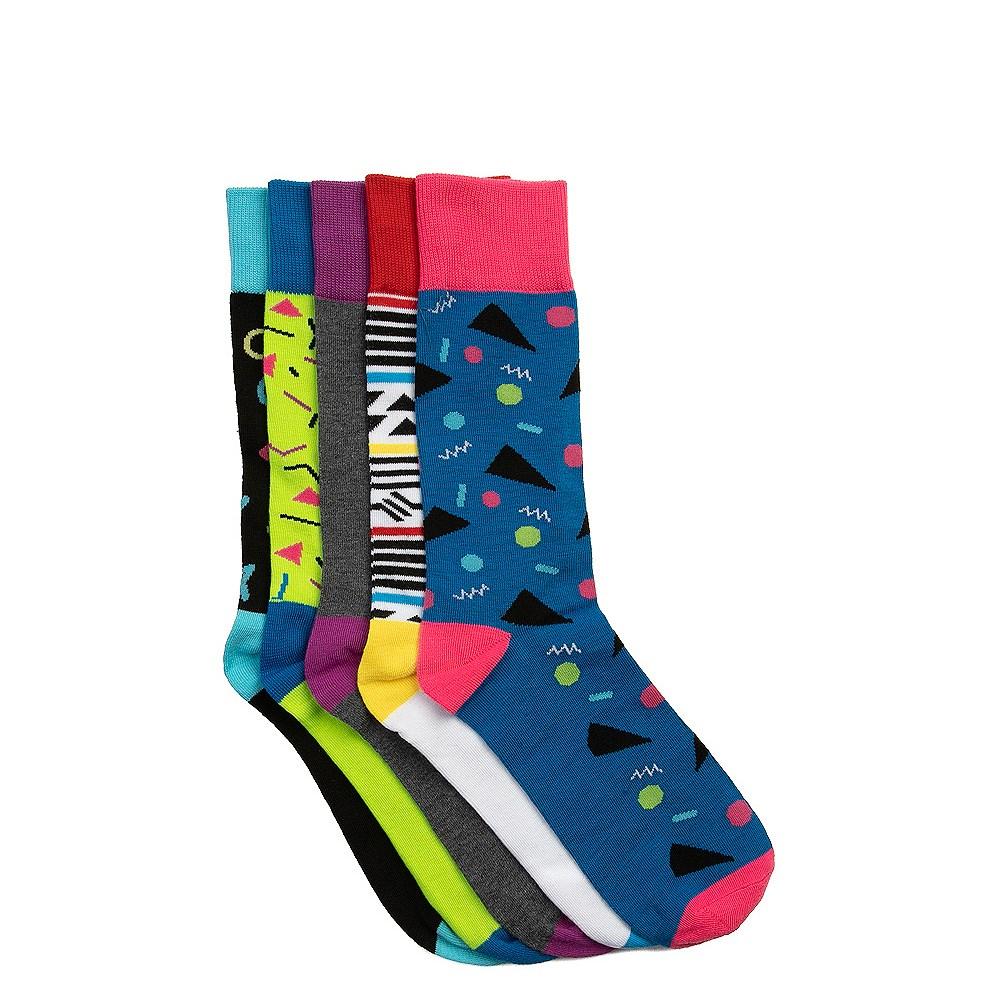 90s Crew Socks 5 Pack