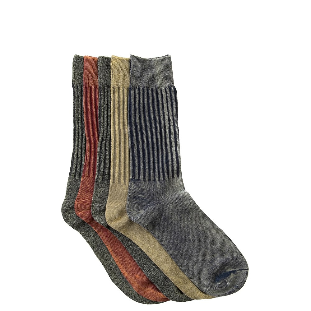 Mens Salt Paint Crew Socks 5 Pack