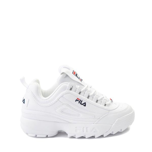 Main view of Fila Disruptor 2 Athletic Shoe - Big Kid - White / Navy / Red