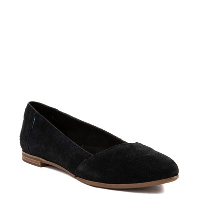 Alternate view of Womens TOMS Julie Flat