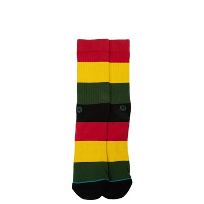 Main view of Mens Stance Rasta Crew Socks