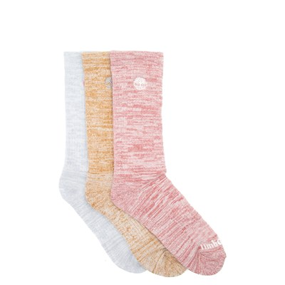 Main view of Womens Timberland Boot Crew Socks 3 Pack