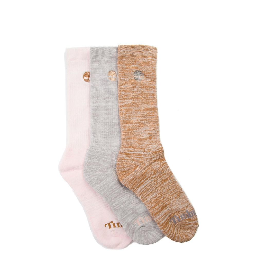 Womens Timberland Boot Crew Socks 3 Pack