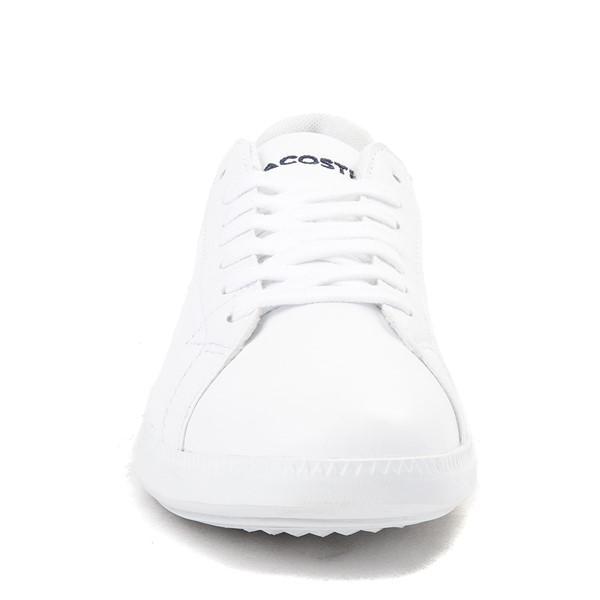 alternate image alternate view Womens Lacoste Graduate Athletic Shoe - WhiteALT4