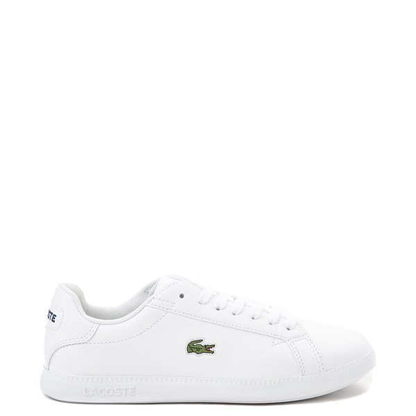 Main view of Womens Lacoste Graduate Athletic Shoe - White
