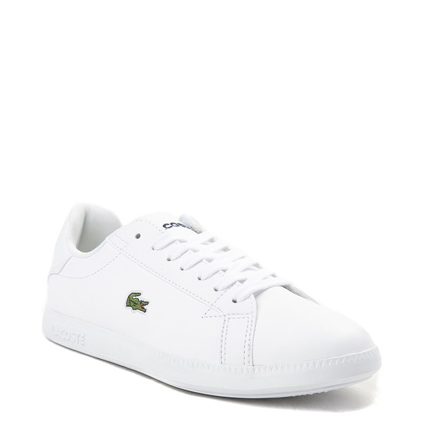 alternate image alternate view Womens Lacoste Graduate Athletic Shoe - WhiteALT1