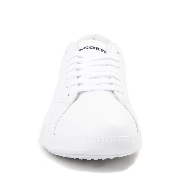 alternate image alternate view Womens Lacoste Graduate Athletic Shoe - WhiteALT4