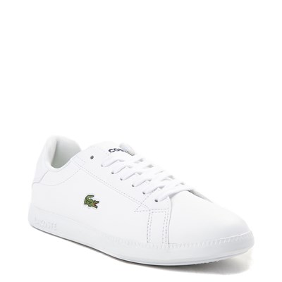 Alternate view of Womens Lacoste Graduate Athletic Shoe - White