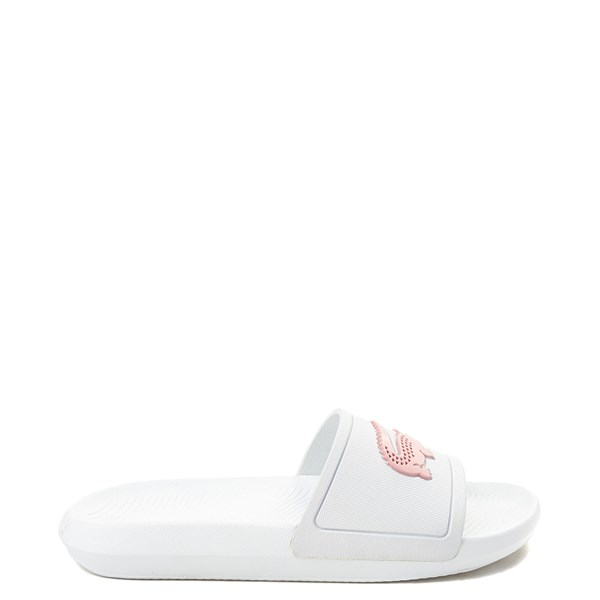 Womens Lacoste Croco Slide Sandal