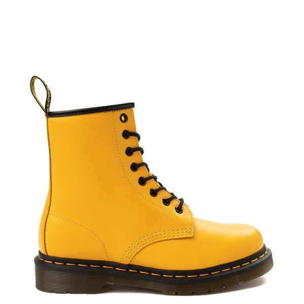 Main view of Dr. Martens 1460 8-Eye Color Pop Boot - Yellow