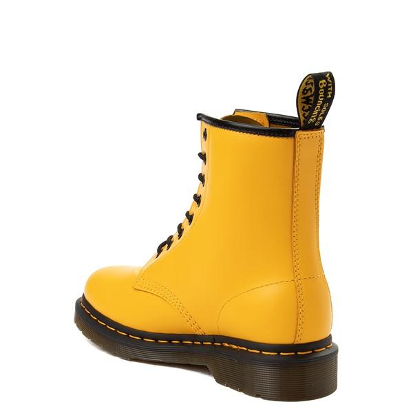 alternate view Dr. Martens 1460 8-Eye Color Pop Boot - YellowALT1