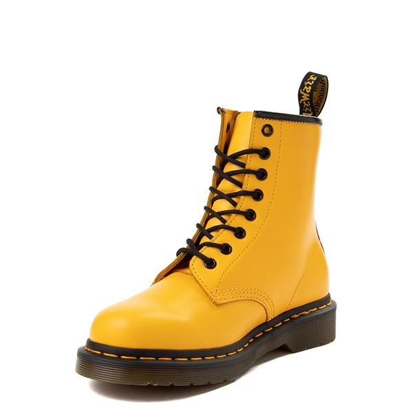 alternate view Dr. Martens 1460 8-Eye Color Pop Boot - YellowALT2