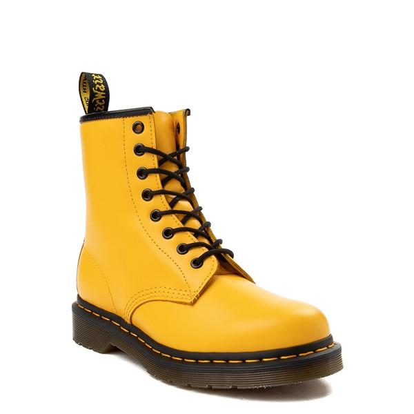 alternate view Dr. Martens 1460 8-Eye Color Pop Boot - YellowALT5