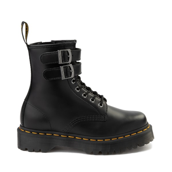 Main view of Womens Dr. Martens 1460 8-Eye Bex Buckle Boot