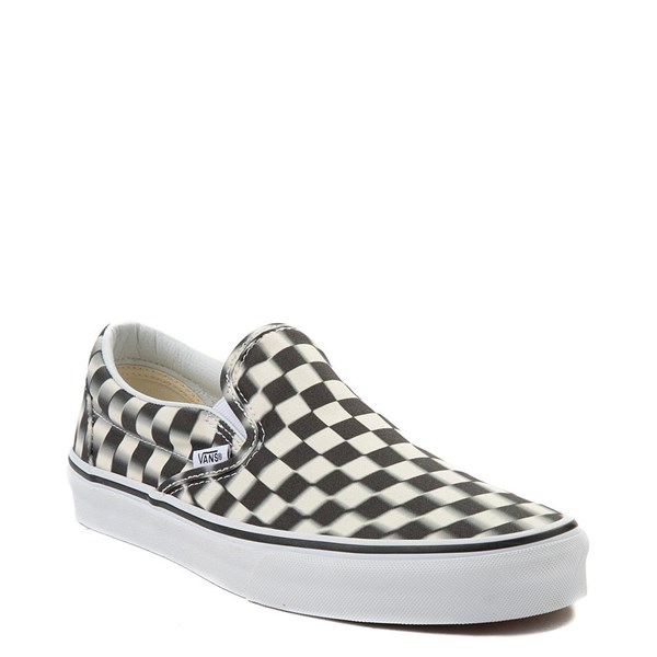 alternate image alternate view Vans Slip On Blur Chex Skate ShoeALT1