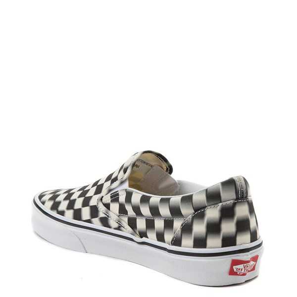 alternate image alternate view Vans Slip On Blur Chex Skate ShoeALT2