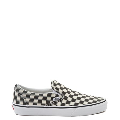 Main view of Vans Slip On Blur Chex Skate Shoe