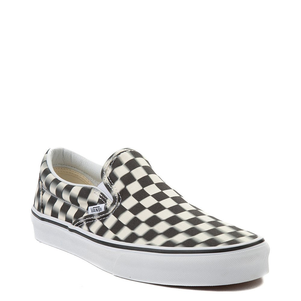 Get - checkered blurred vans - OFF 79