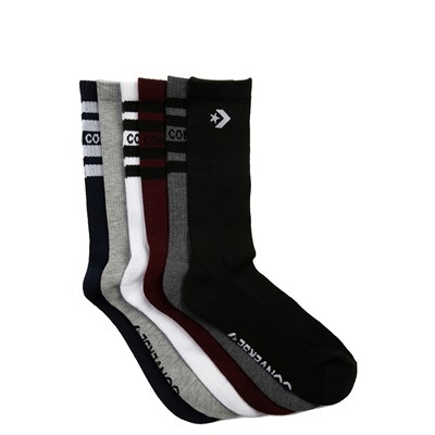 Alternate view of Mens Converse Crew Socks 6 Pack