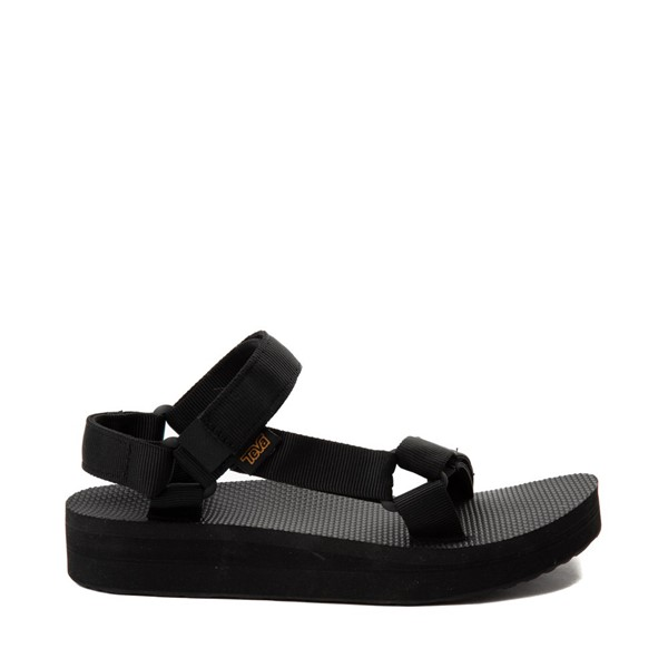 Main view of Womens Teva Midform Universal Sandal - Black