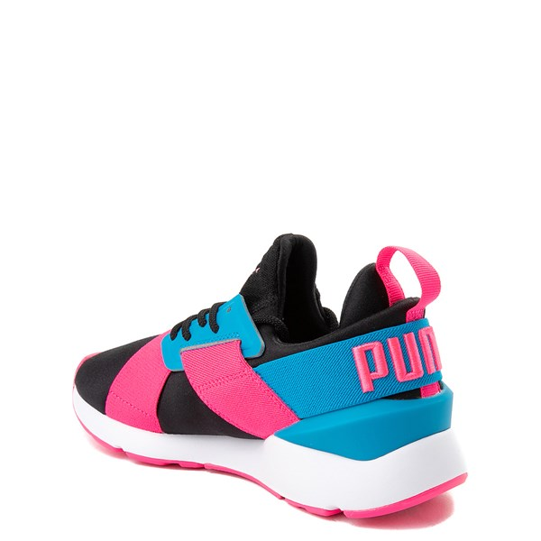 alternate image alternate view Puma Muse Satin Athletic Shoe - Big KidALT2