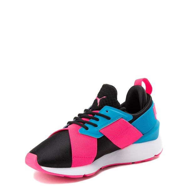 alternate image alternate view Puma Muse Satin Athletic Shoe - Big KidALT3