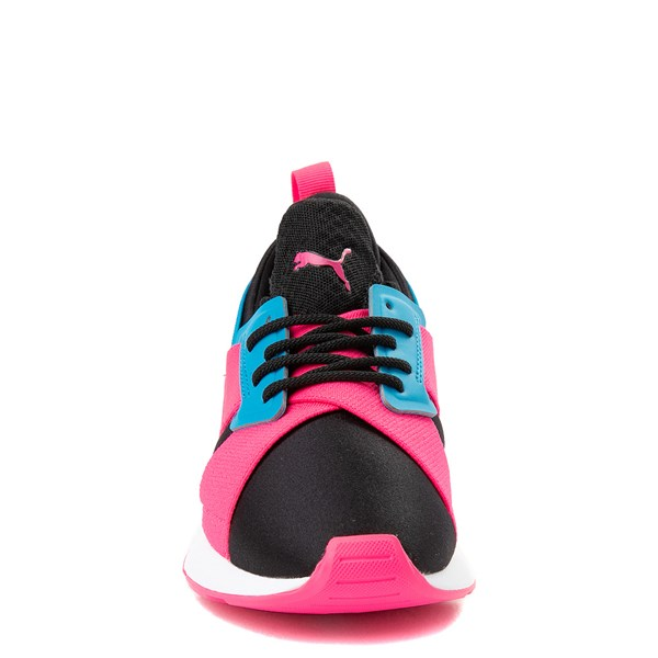 alternate image alternate view Puma Muse Satin Athletic Shoe - Big KidALT4