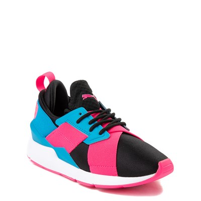 Alternate view of Puma Muse Satin Athletic Shoe - Big Kid