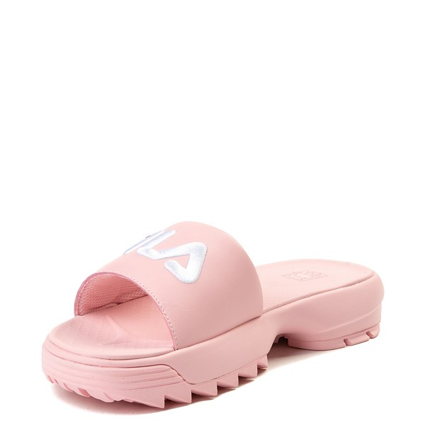 alternate image alternate view Womens Fila Disruptor Slide SandalALT3