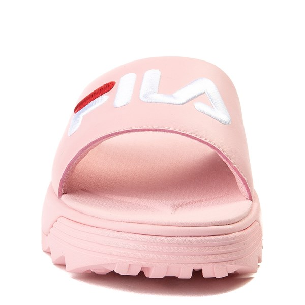 alternate image alternate view Womens Fila Disruptor Slide SandalALT4