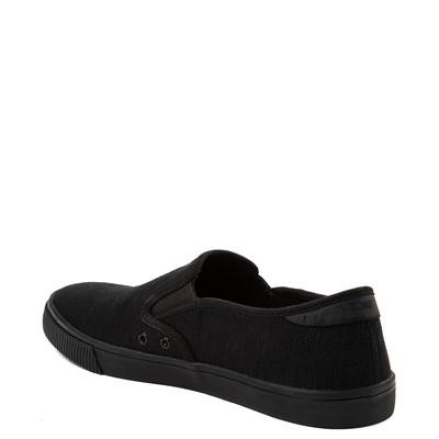 Alternate view of Mens TOMS Baja Slip On Casual Shoe - Black